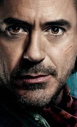 Sherlock Holmes, gioco di ombre e nebbia - Sherlock Holmes e il rivale Moriarty.