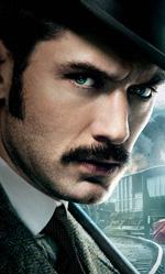 Sherlock Holmes, gioco di ombre e nebbia - Il dottor Watson e la zingara Sim.
