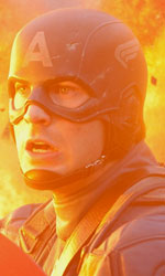 Capita, 'nammerica - Chris Evans in una scena del film <em>Captain America: Il primo vendicatore</em>.