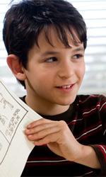 Film nelle sale: Caro diario, ho paura del buio - In foto Zachary Gordon, giovane protagonista di Diario di una schiappa.