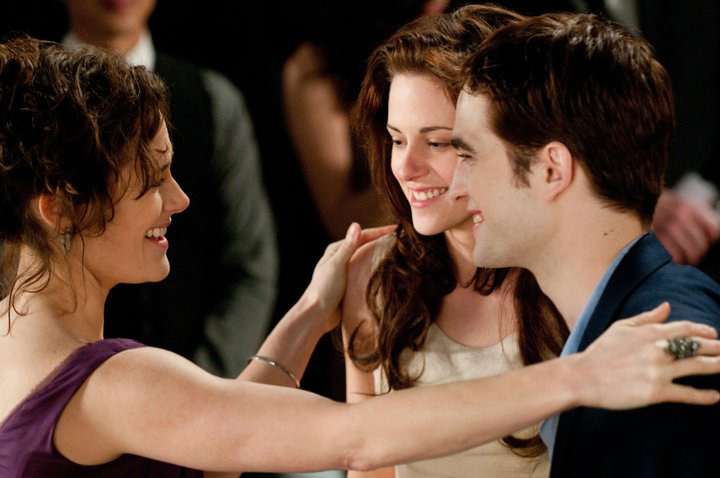 Una delle nuove foto di <em>The Twilight Saga: Breaking Dawn - Parte I</em>.