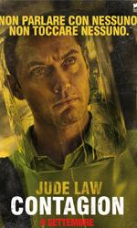 Contagion, il mondo nel panico - Il character poster di Jude Law.