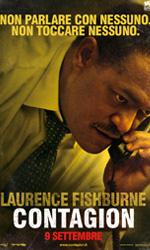 Contagion, il mondo nel panico - Il character poster di Laurence Fishburne.