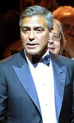 La Mostra cala i primi assi. Americani - George Clooney in sala per la proiezione de Le Idi di marzo.