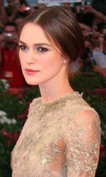 Nel giorno di Cronenberg � sorpresa Coppola - In foto Keira Knightley, sul red carpet per il film <em>A Dangerous Method</em>