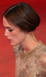 Nel giorno di Cronenberg � sorpresa Coppola - In foto Keira Knightley, sul red carpet per il film A Dangerous Method