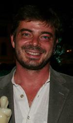 MYmovies premia il cinema italiano - In foto Aureliano Amadei, regista del film 20 sigarette, a cui Eric Montanari ha consegnato il premio Kin�o per il cinema italiano.