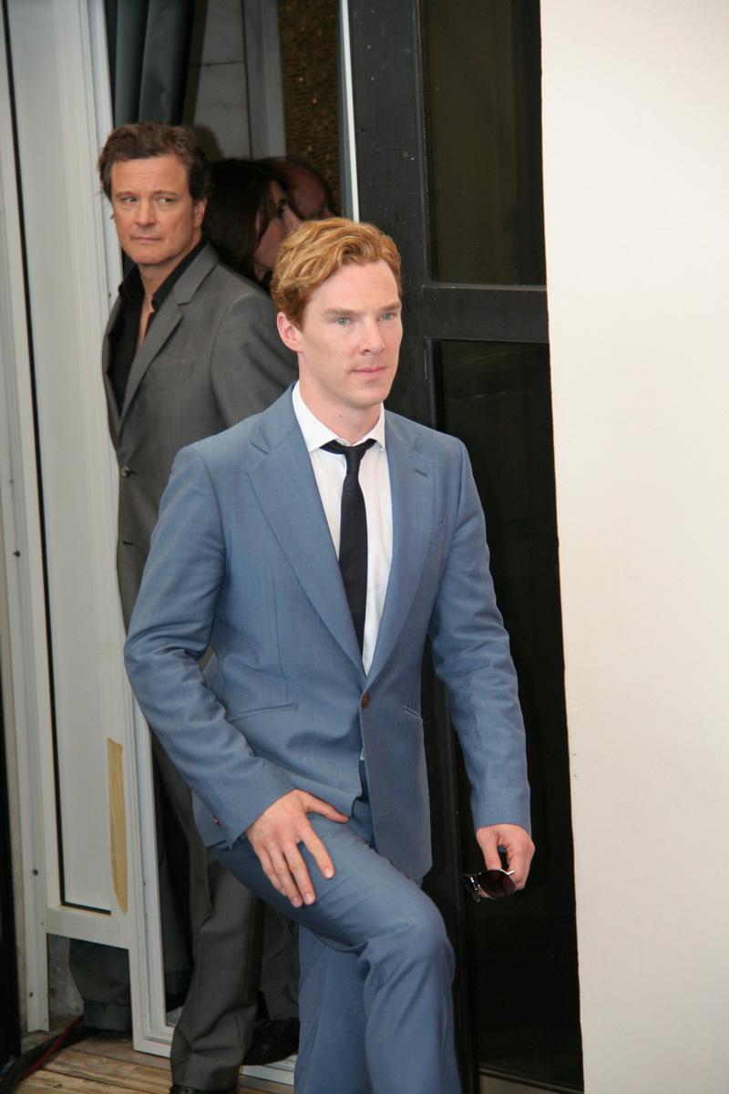 In foto Benedict Cumberbatch (41 anni)