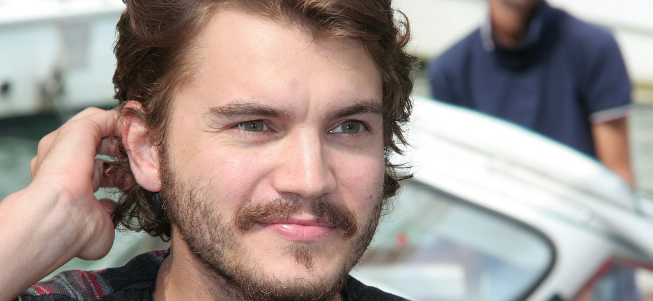 L'attore Emile Hirsch, protagonista del film <em>Killer Joe</em>, sbarca al Lido.