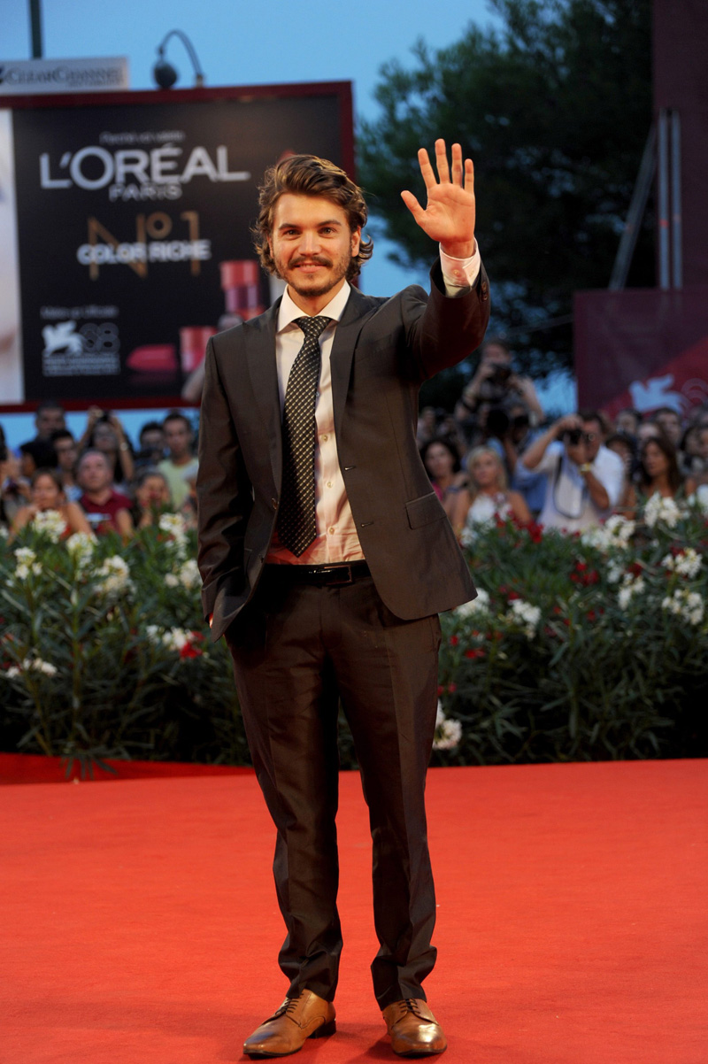 In foto Emile Hirsch (28 anni)