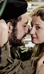 Missione di pace, applausi all'esordiente Lagi - Filippo Timi e Alba Rorhwacher sul set del film Missione di Pace di Francesco Lagi.