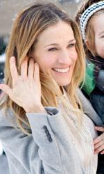 Ma come fa a far tutto?, il coraggio di una mamma in carriera - In foto Sarah Jessica Parker in una scena del film Ma come fa a far tutto?, commedia tratta dall'omonimo bestseller di Allison Pearson.