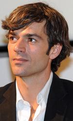 Tiberio Mitri, il campione e la miss - In foto Luca Argentero durante la presentazione della fiction a Torino.