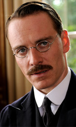 Er Dangerus Metod - In foto Michael Fassbender, protagonista del film <em>A Dangerous Method</em> di David Cronenberg.