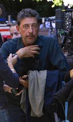 Penelope Cruz a Roma con Castellitto - Sergio Castellitto sul set romano di Venuto al mondo, da lui diretto.