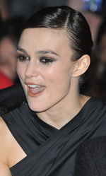 A Dangerous Method, Keira Knightley sul red carpet - Il red carpet al BFI London Film Festival.