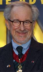 La politica degli autori: Steven Spielberg - In foto Steven Spielberg durante la presentazione in Belgio (paese d'origine di Herg�) del film Le avventure di Tintin � Il segreto dell'Unicorno.