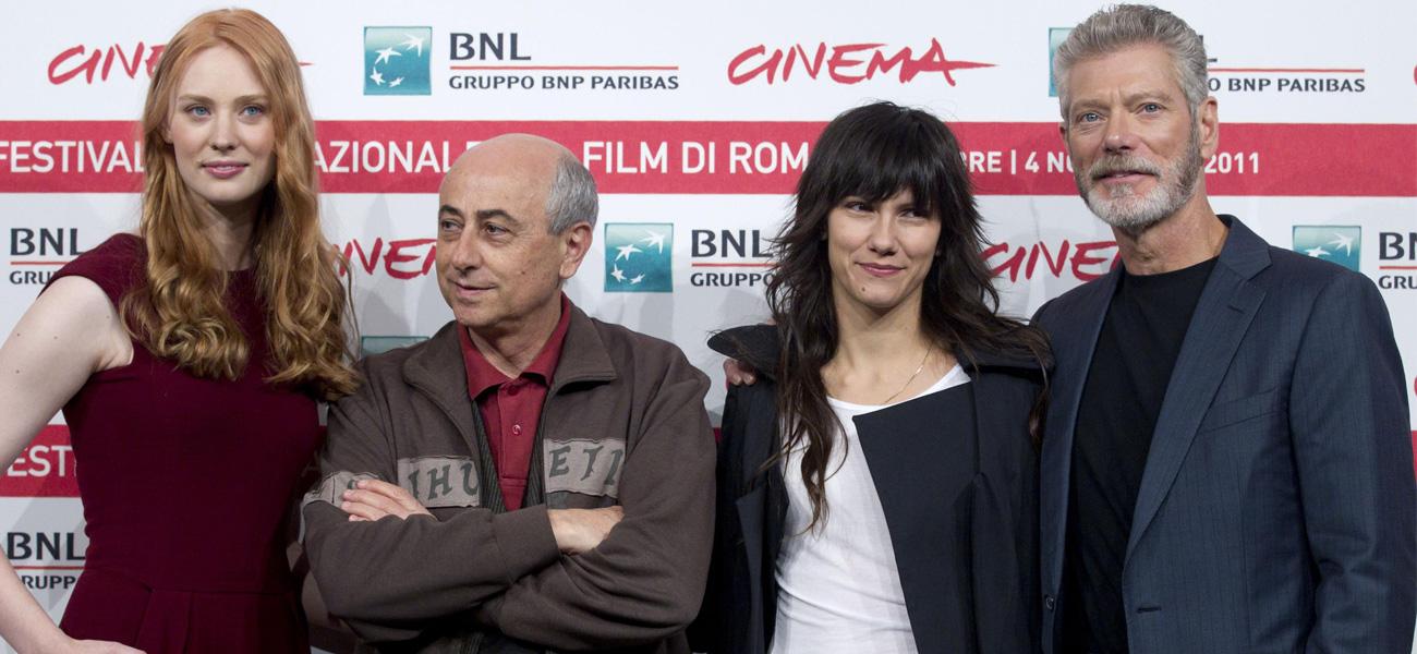 In foto Roberto Faenza (73 anni)