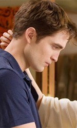 American Monsters - In foto Robert Pattinson e Kristen Stewart in una scena del film <em>The Twilight Saga: Breaking Dawn - Parte I</em> di Bill Condon.