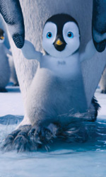 Happy Feet 2, bentornati in Antartide - In foto una scena del film Happy Feet 2 in 3D.
