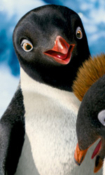 Happy Feet 2, bentornati in Antartide - In foto una scena del film Happy Feet 2 in 3D diretto da George Miller.