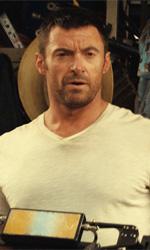 Real Steel, il coraggio � pi� forte dell'acciaio - In foto Hugh Jackman in una scena del film Real Steel di Shawn Levy.