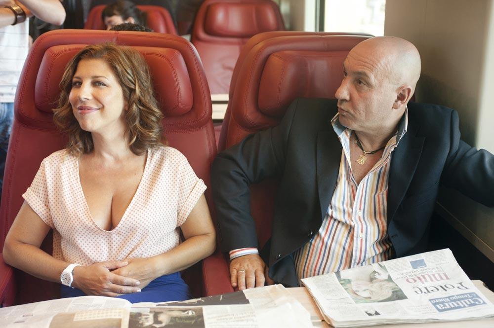 In foto Michela Andreozzi (47 anni)