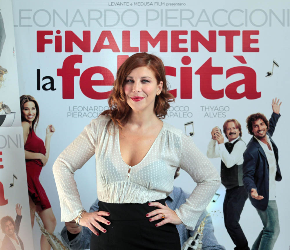 In foto Michela Andreozzi (48 anni)
