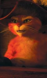Il gatto con gli stivali, seduttore, combattente e fuorilegge - In foto una scena del film Il gatto con gli stivali di Chris Miller.