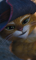 Il gatto con gli stivali, seduttore, combattente e fuorilegge - In foto una scena del film Il gatto con gli stivali.