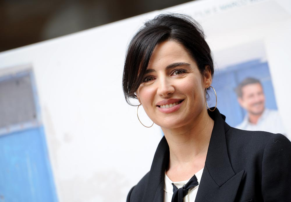 In foto Luisa Ranieri (44 anni)