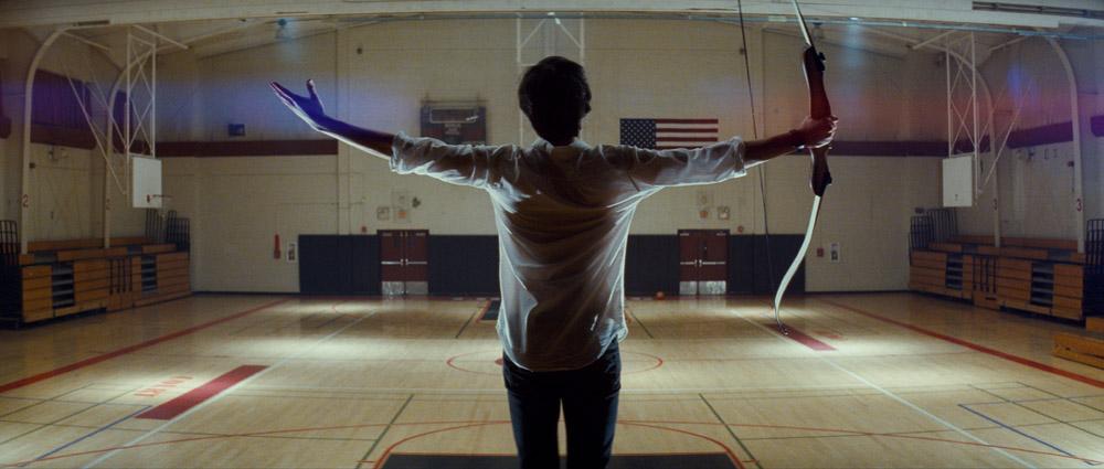 In foto una scena del film <em>...E ora parliamo di Kevin</em>. -