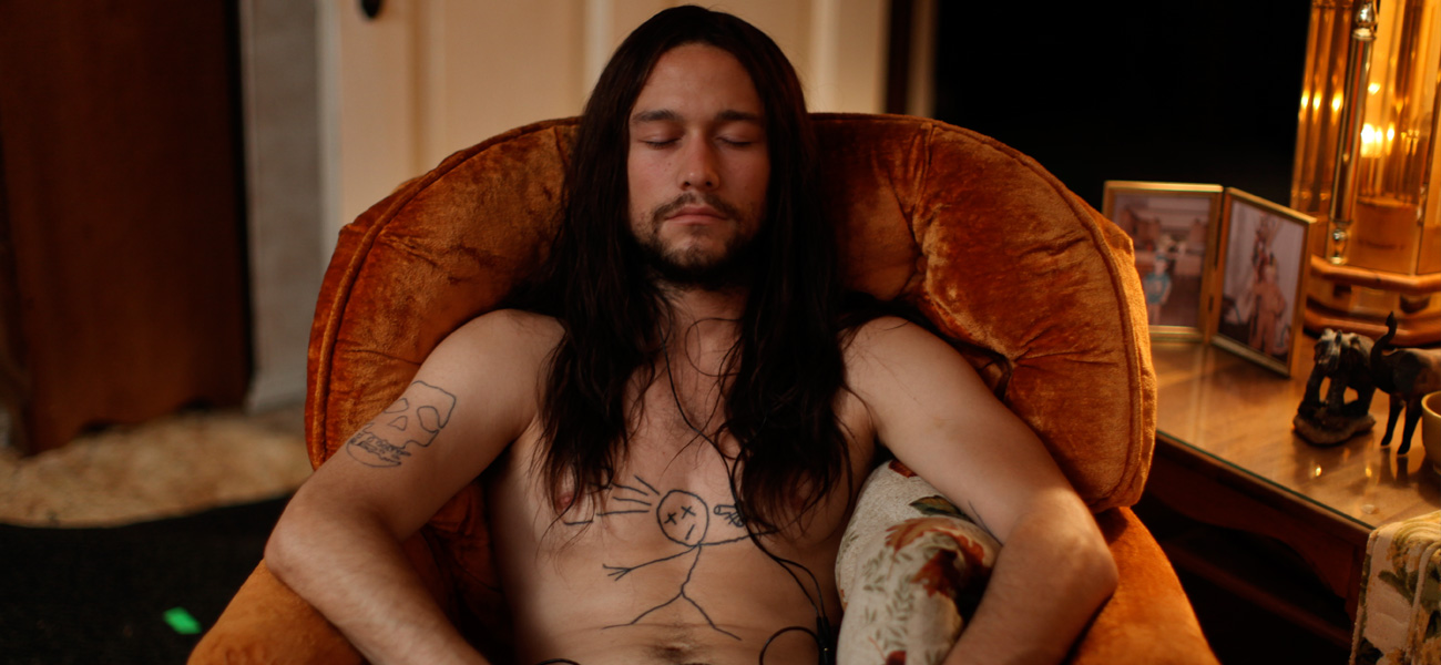 In foto Joseph Gordon-Levitt in una scena del film <em>Hesher � stato qui</em> di Spencer Susser.