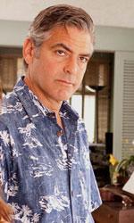 Paradiso amaro, crisi e rinascita di un genitore di sostegno - In foto George Clooney in una scena del film Paradiso amaro di Alexander Payne.