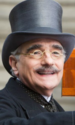 Hugo Cabret: lezioni di cinema - In foto Martin Scorsese sul set di <em>Hugo Cabret</em>.