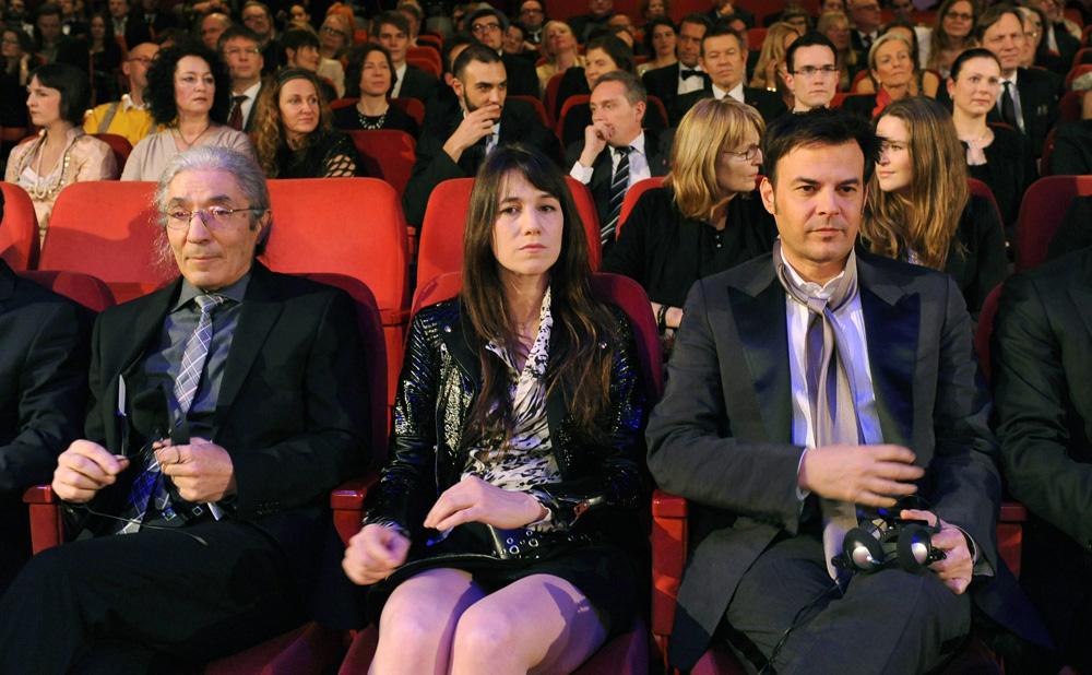 Berlinale 2012, Orso d'oro a Cesare deve morire - Alcuni dei giurati durante la cerimonia di premiazione.