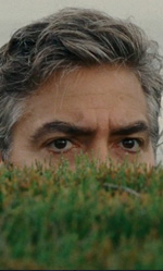 Autunno alle Hawaii - In foto l'attore George Clooney in una scena di <em>Paradiso amaro</em> di Alexander Payne.