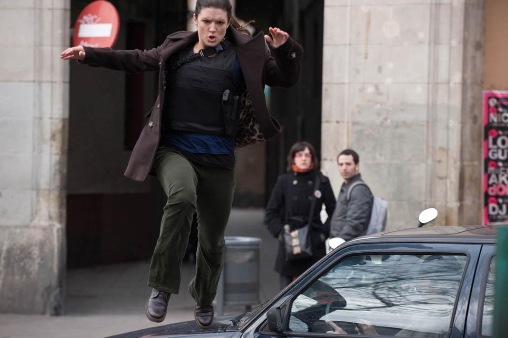 In foto Gina Carano (35 anni)