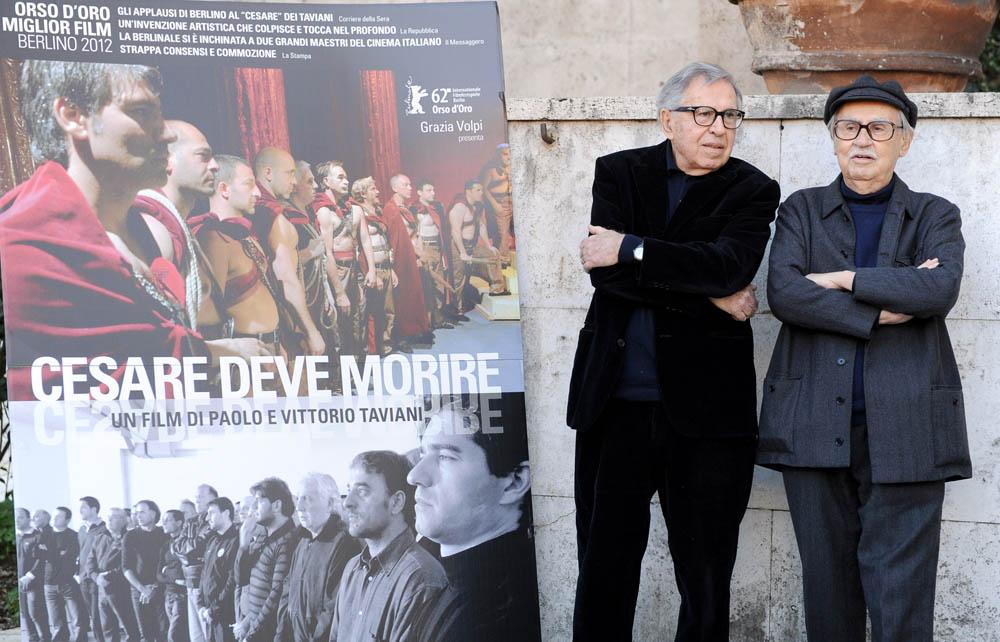 In foto Vittorio Taviani (88 anni)