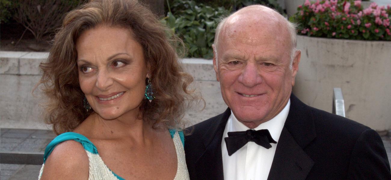 In foto (a destra) Barry Diller, a capo dell'IAC/InterActiveCorp e finanziatore dell'iniziativa Aereo.