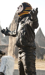 Ghost Rider - Spirito di vendetta, il diavolo � tornato - Una foto dal set del film Ghost Rider - Spirito di vendetta.