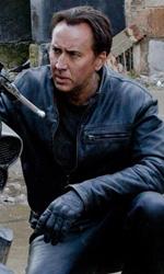 Ghost Rider - Spirito di vendetta, il diavolo è tornato - Nicolas Cage e la sua moto in una scena del film Ghost Rider - Spirito di vendetta.
