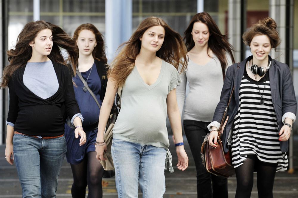Сериал про беременную школьницу 60