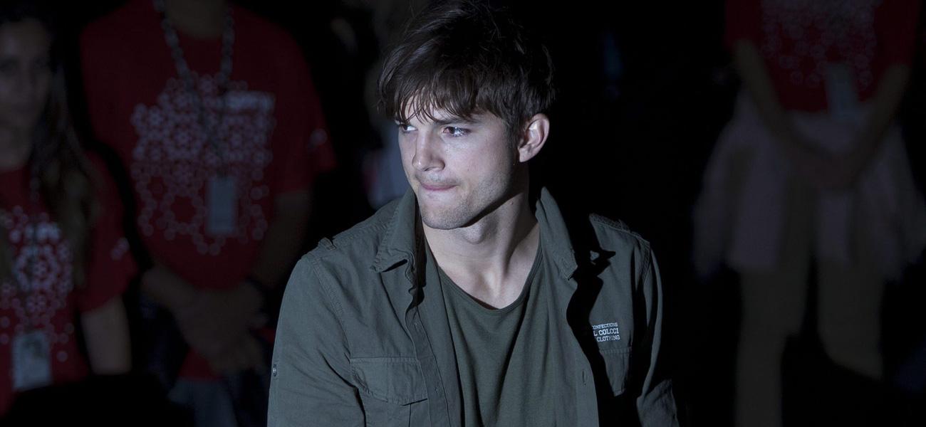In foto l'attore Ashton Kutcher.