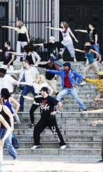 In foto una scena del film <em>Streetdance 2</em>. -