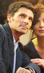 Ciliegine, come guarire dall'androfobia - In foto Pascal Elbé e Laura Morante in una scena del film Ciliegine.