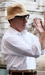 To Rome With Love, quante sorprese nella Capitale! - Una foto dal set del film To Rome with Love di Woody Allen.
