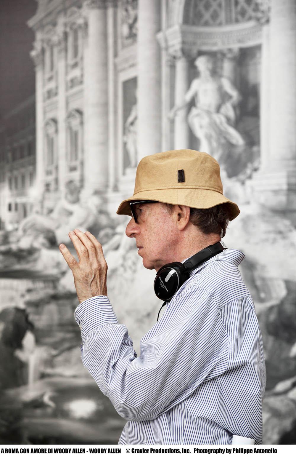In foto Woody Allen (82 anni)