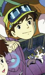 Laputa, una (quasi) storia d'amore - In foto una scena del film Il castello nel cielo di Hayao Miyazaki.