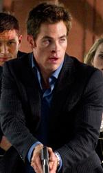Una spia non basta, in amore � come in guerra - In foto Chris Pine, Tom Hardy e Reese Witherspoon, i tre protagonisti del film Una spia non basta di McG.